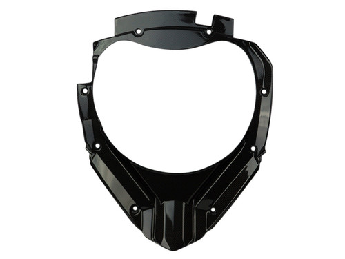 Cockpit Cover Lower Sides in Glossy Plain Weave Carbon Fiber for KTM 1290 Super Adventure, 1190 Adventure
