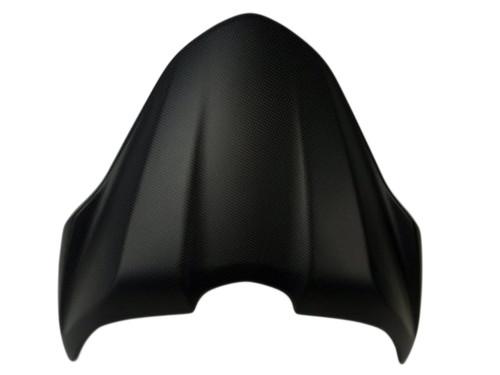 Seat Cowl in Matte Plain Weave Carbon Fiber for Ducati Monster 821 15-17, 1200 14-16
