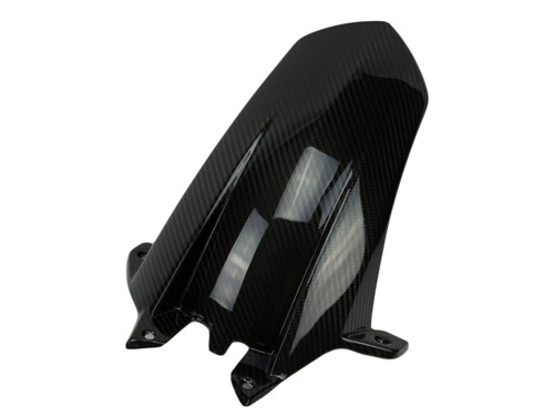 Rear Hugger in Glossy Twill Weave  Carbon Fiber for KTM RC8 2008+