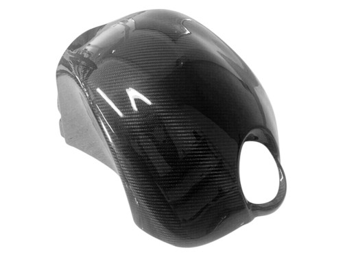 Tank Cover in Glossy Twill Weave  Carbon Fiber for Buell XB9,XB12, S,R