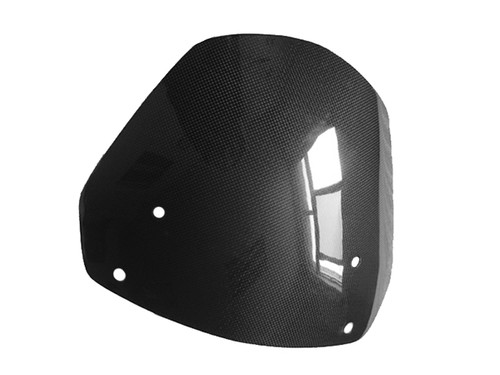 Screen in Glossy Plain Weave Carbon Fiber for Buell XB12X, XB12XT (All Years)