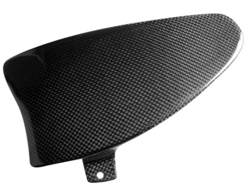 Swing Arm Infill Panel in Glossy Twill Weave Carbon Fiber for Buell XB9,XB12