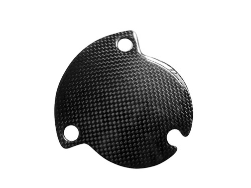 Service Plate Covers in Glossy Plain Weave Carbon with Fiberglass for Buell XB9,XB12 05-09