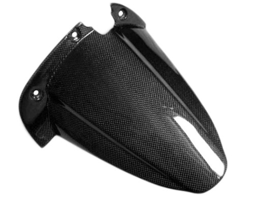 Rear Hugger in Glossy Plain Weave Carbon with Fiberglass for Buell 1125
