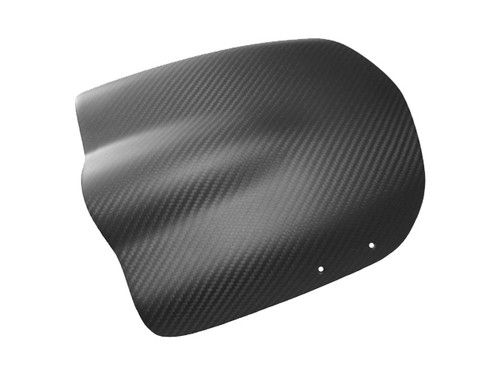 Windscreen in Matte Twill Weave Carbon with Fiberglass for Buell XB12X