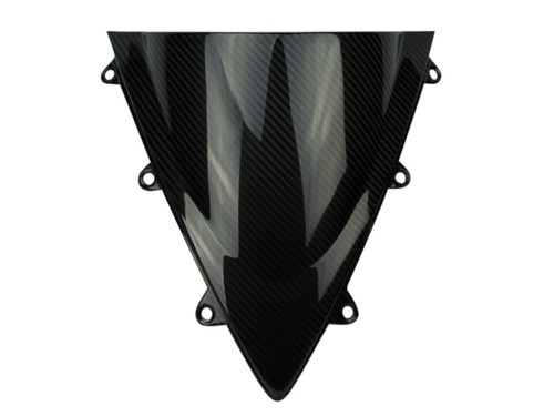 Windscreen in Glossy Twill Weave Carbon Fiber for Honda CBR1000RR 12-16