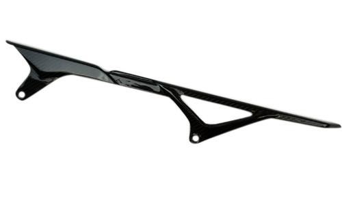 Chain Guard in Glossy Twill Weave Carbon Fiber for Yamaha FZ-09/ MT-09/FJ-09/XSR900