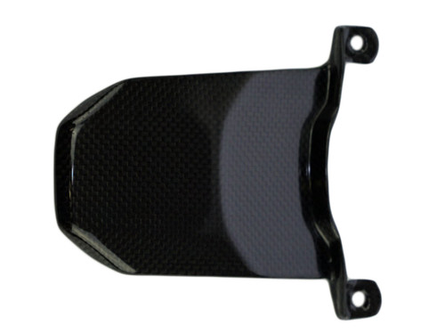 Upper Rear Light Cover in Glossy Plain Weave Carbon Fiber for Yamaha FZ-07/ MT-07