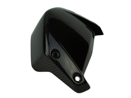 Windscreen in Glossy Twill Weave Carbon Fiber for BMW R1200R 2015+