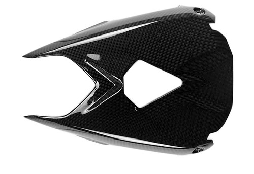 Undertray in Glossy Plain Weave Carbon for Triumph Daytona 675 2013+, Street Triple 2013-2016