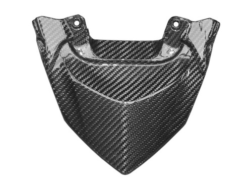 Tail Cowl in Glossy Twill Weave Carbon with Fiberglass for Honda CBF600 Hornet 2011-2013