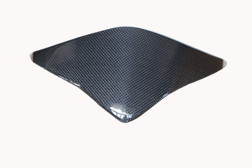Instrument Cover in Glossy Twill Weave Carbon with Fiberglass for Honda CBF600 Hornet 2011-2013