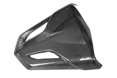 Seat Cowl in Glossy Twill Weave Carbon with Fiberglass for Honda CBF600 Hornet 2011-2013