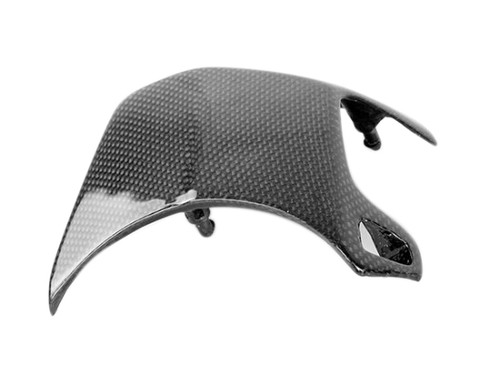 Sprocket Cover in Glossy Plain Weave Carbon Fiber for Honda CBF600 Hornet 2007-2010