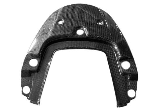 Seat Section Cover in Glossy Plain Weave Carbon Fiber for Honda CBF600 Hornet 2007-2010