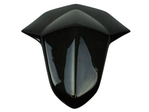 Seat Cowl in Glossy Plain Weave Carbon Fiber for Suzuki GSXR 1000 12-16