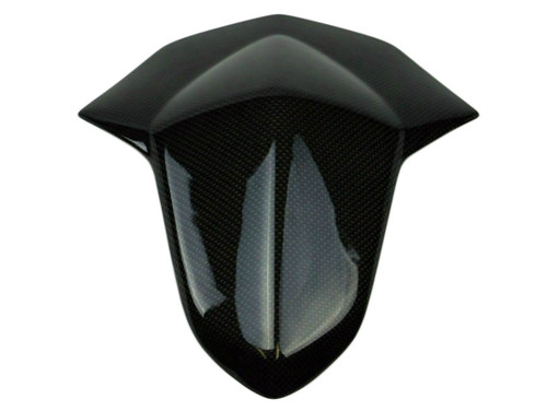 Seat Cowl in Glossy Plain Weave Carbon Fiber for Suzuki GSXR 1000 12-16