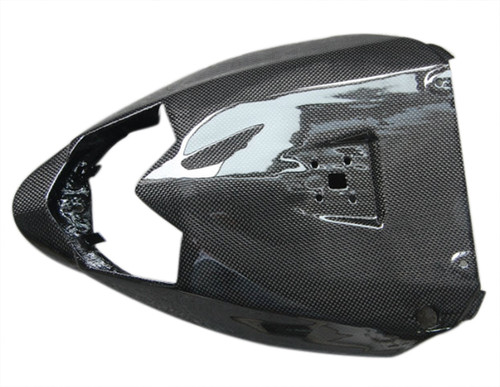 Under Seat Cover in Glossy Plain Weave Carbon Fiber for Kawasaki ZX10R 2010
