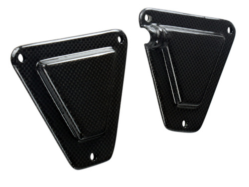 Airbox Covers in Glossy Plain Weave Carbon Fiber for KTM Supermoto 950/990 , SMR,SMT,SE, Superduke, Adventure 2005-2013