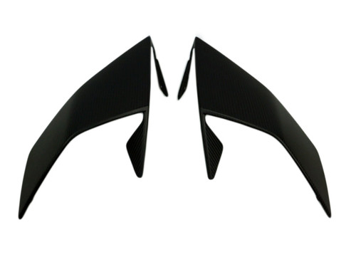 Front Fairing in Matte Plain Weave Carbon Fiber for KTM RC8