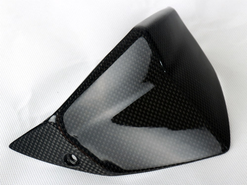 Windshield in Glossy Plain weave Carbon Fiber for KTM Duke 690 III 2008-2011