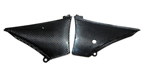 Air Box Cover in Glossy Twill Weave Carbon Fiber for KTM Duke 690 II 1998-2007