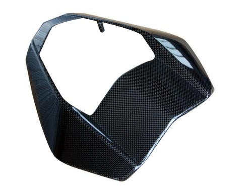 Front Fairing in Glossy Plain Weave Carbon Fiber for KTM Duke 690 2012+