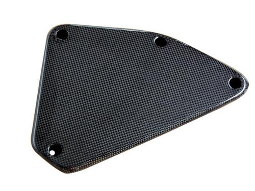 Side Panel in Glossy Twill Weave Carbon Fiber for KTM Duke 690 2012+
