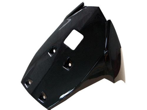Belly Pan in Glossy Plain Weave Carbon Fiber for KTM Duke 125, 200  2011-2016