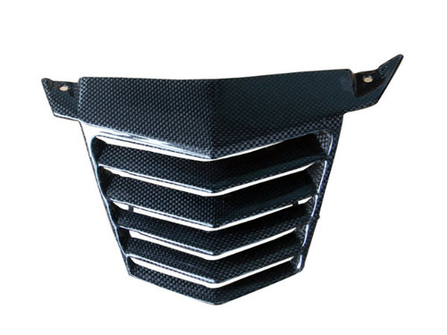 V Panel in Glossy Plain Weave Carbon Fiber for KTM Duke 125, 200 & 390 2011-2016