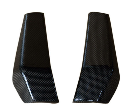 Radiator Covers in Glossy Plain Weave Carbon Fiber for KTM Duke 125, 200 & 390 2011-2016
