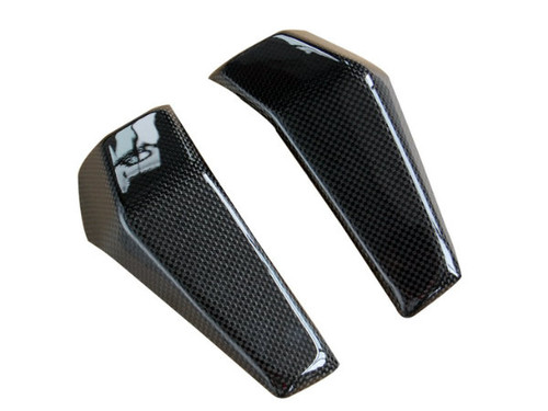Radiator Covers in Glossy Plain Weave Carbon Fiber for KTM Duke 125, 200 & 390 2011-2016