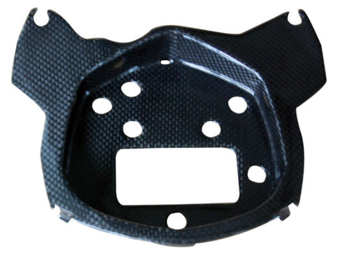 Instrument Stay in Glossy Plain Weave Carbon Fiber for KTM Duke 125, 200 & 390 2011-2016