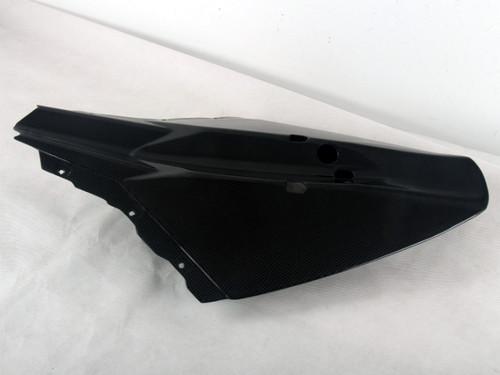 Tail Fairing in Glossy Plain Weave Carbon Fiber for KTM Duke 690 III 2008-2011