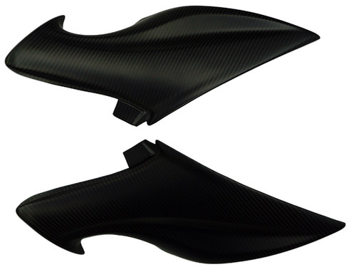 Under Seat Side Panels in Matte Twill Weave Carbon Fiber for Suzuki GSX-S1000 2015+