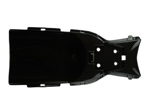 Undertray in glossy twill weave carbon fiber for Suzuki GSX-S1000 2015+