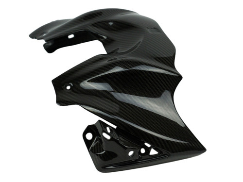 Tank Cover in Glossy Twill weave Carbon Fiber for Suzuki GSX-S1000 2015+