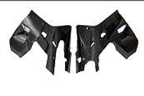 Lower Side Panels in Carbon with Fiberglass for Hyosung GT250R & GT650R