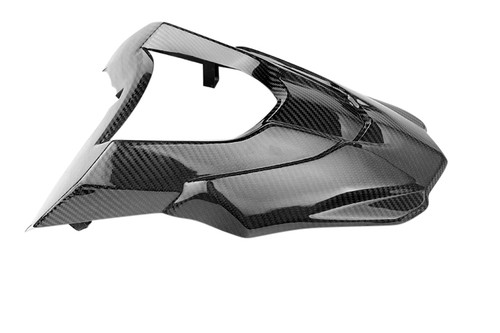 Front Fairing Beak + Extension in Glossy Twill Weave Carbon Fiber for BMW G650GS 2012+