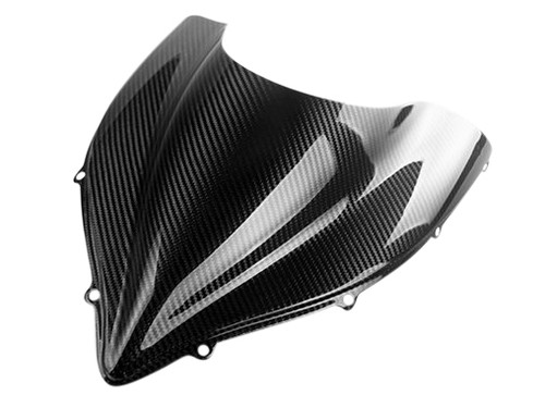 Windshield in Glossy Twill Weave Carbon Fiber for MV Agusta F4 2010+
