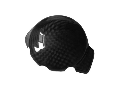 Alternator Cover (kevlar Inside) in Glossy Plain Weave Carbon Fiber for Yamaha R1 00-01