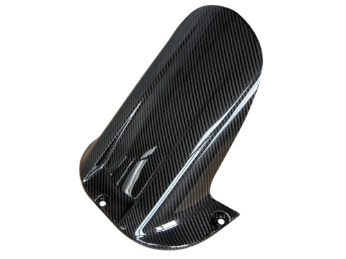 Rear Hugger in Glossy Twill Weave Carbon Fiber for Yamaha R1 98-02
