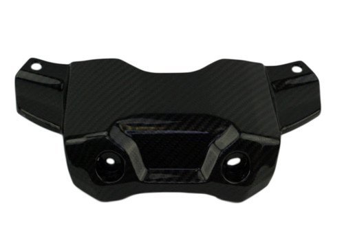 Front Tank Cover in Glossy Twill Weave Carbon Fiber for Yamaha FZ-09/MT-09