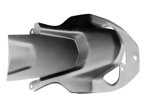 Licence Plate Holder in Matte Plain Weave Carbon Fiber for Ducati Multistrada 1200/S (15-17), 950/S (17-19), Enduro/Pro (16-18)