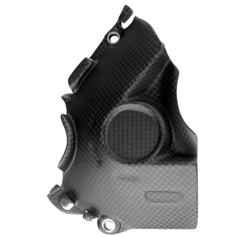 Sprocket Cover in Matte Plain Weave Carbon Fiber for Ducati Multistrada 1200 2015-2017, Enduro 1200/1260