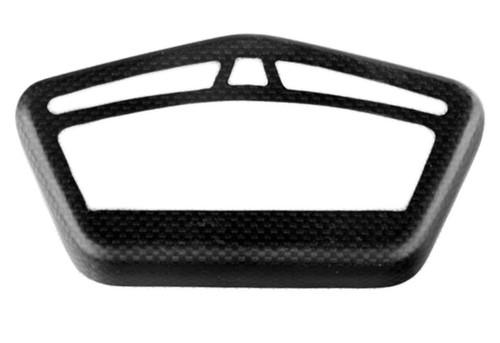 Cockpit Frame in Matte Plain Weave Carbon Fiber for Ducati Hypermotard 821 2013+