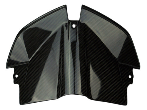 Dash Panel in Glossy Twill Weave Carbon Fiber for BMW S1000XR 2014-2018