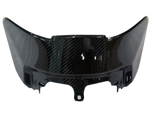 Small Tank Cover in Glossy Twill Weave Carbon Fiber for BMW S1000XR