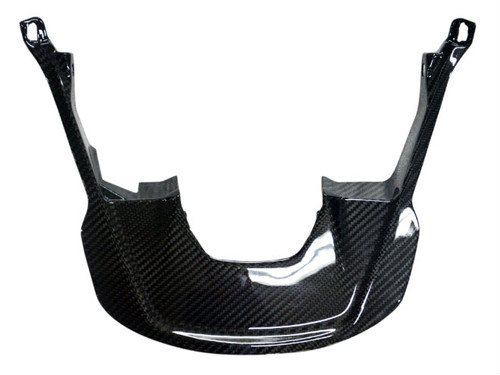 Ignition Surround in Glossy Twill weave Carbon Fiber for BMW S1000XR