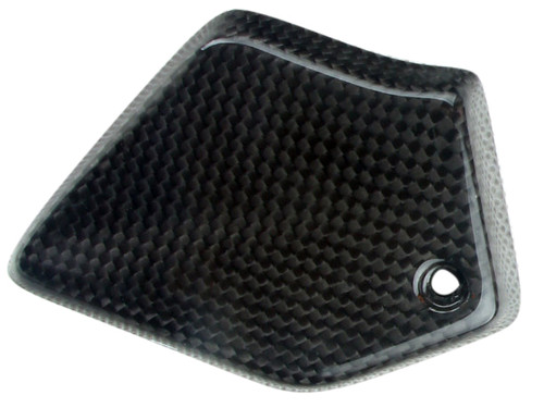 Small Cover in Glossy Twill Weave Carbon Fiber for MV Agusta Brutale 675/800